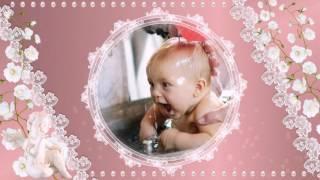 Шаблоны слайд шоу «Крещение ребенка»