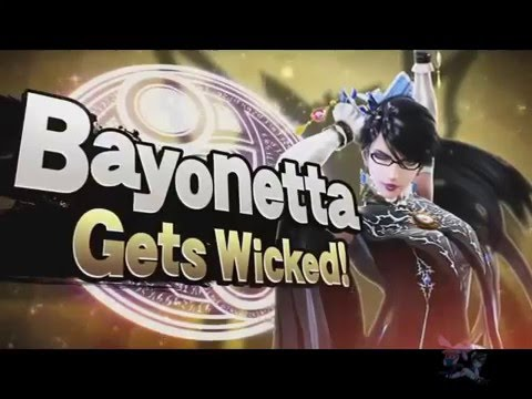 Reacción re loca a BAYONETTA en Smash Bros!!