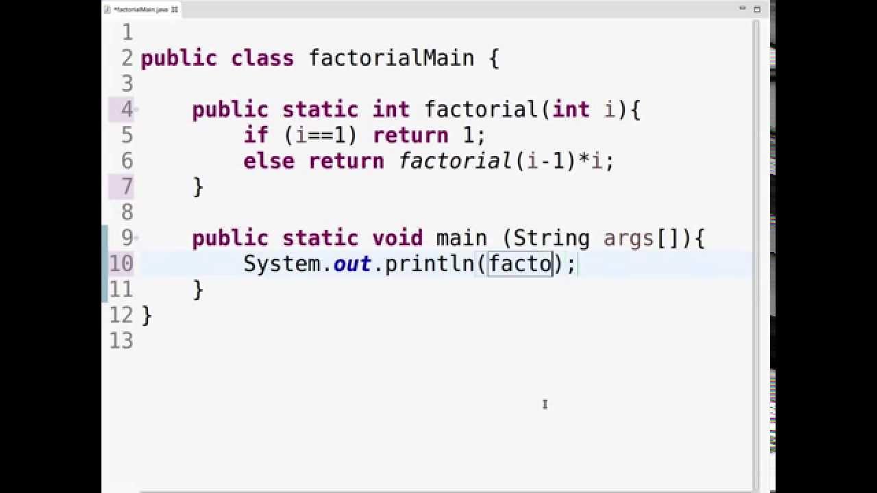 Factorial of number in JavaScript