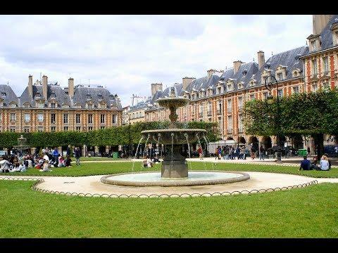 Places to see in ( Paris - France ) Place des Vosges