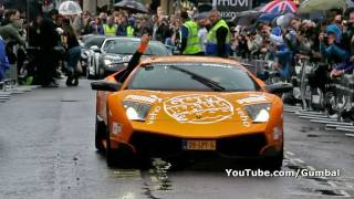 The start of the 2011 Gumball 3000 Rally! - Covent Garden, London