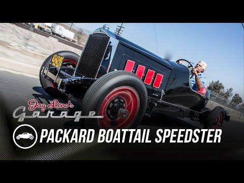 1929 Packard Boattail Speedster - Jay Leno's Garage