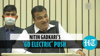 'Use of electric vehicle should be made mandatory for govt officials': Gadkari