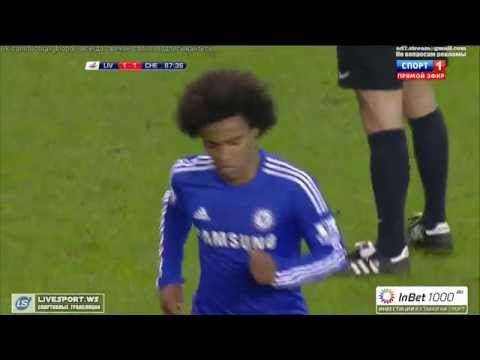 Liverpool vs Chelsea - Capital One Cup (1:1) - 2015 HD