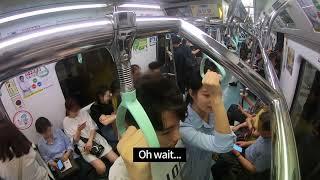 지하철 섬유향수 테스트