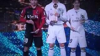 Real Madrid 4- kashima 2. campeon mundialito de clubes 2016