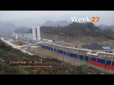 China's First Shale Gas LNG Plant--English