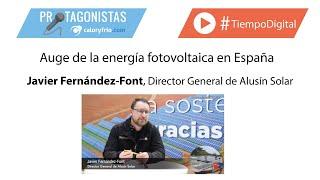 Auge de la energía fotovoltaica en España | Javier Fernández-Font en Protagonistas GENERA 2020