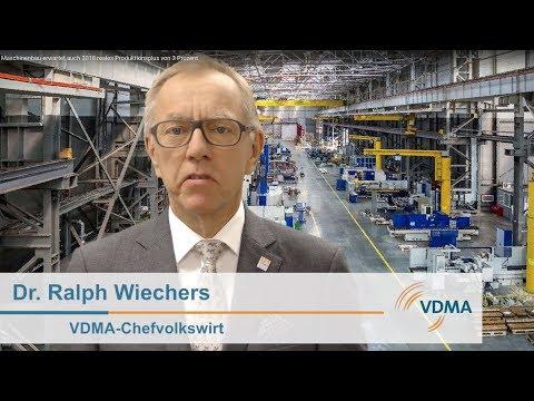 Maschinenbau erwartet auch 2018 reales Produktionsplus von 3 Prozent