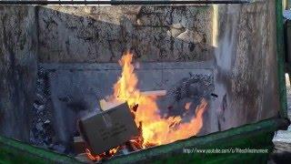 Как мы проверяли огнетушители (How we tested fire extinguishers)(после недавнего пожара на складе в Ногинске, мы решили проверить, справится ли с огнем самосрабатывающий..., 2016-02-18T19:34:58.000Z)