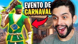 JÁ MITEI COM O NOVO PERSONAGEM BRASILEIRO (CAPOEIRA)!!! CARNAVAL NO GUNS OF BOOM!