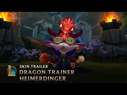 Test Your Wings | Dragon Trainer Heimerdinger Legendary Skin Trailer - League of Legends