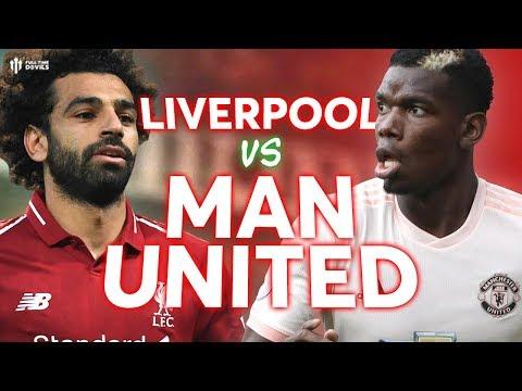 Liverpool vs Manchester United PREMIER LEAGUE PREVIEW!