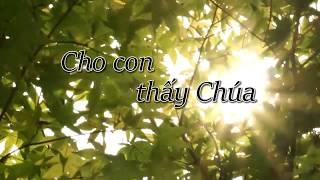 Cho Con Thấy Chúa JESCOM X Photographer team Official Video