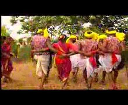 INDIAN WARLI TRIBAL DANCE