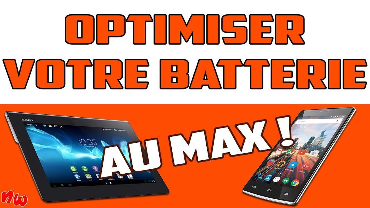 BOOSTER & PRÉSERVER la batterie de votre smartphone ou tablette Android !