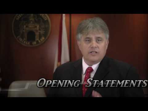 sample civil case opening statement
