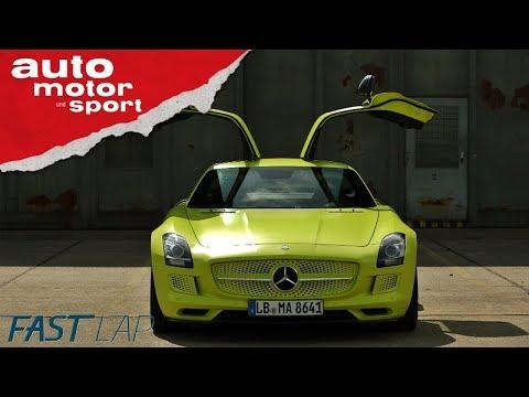 Mercedes SLS Electric Drive: Hochspannung bis zur Ziellinie - Fast Lap | auto motor und sport