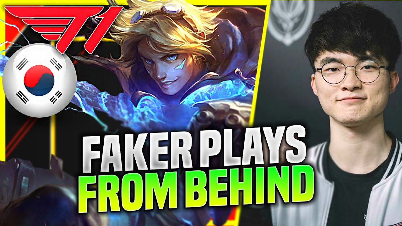 FAKER SHOW YOU HOW TO PLAY WHEN YOU HAVE A BAD GAME! - T1 Faker Plays Ezreal ADC vs Jhin! | KR SoloQ