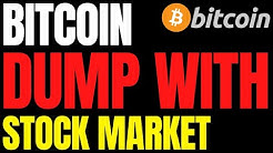 "BITCOIN PRICE DUMPS WITH STOCK MARKET | BTC IS ""LIKELY"" TO BECOME THE WORLD RESERVE CURRENCY?"