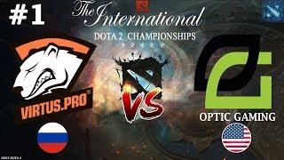 ВП снова в ДЕЛЕ! | Virtus.Pro vs OpTic #1 (BO2) | The International 2018