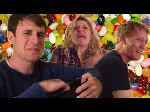 Jelly Bean Challenge with Cast of Studio C