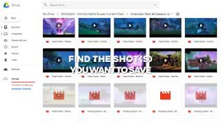 How To Download My Fortnite Cinematics (Free Fortnite Cinematics)