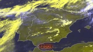 Inacreditável Chemtrails em Portugal & Espanha (10/05/14)