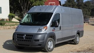 2014 RAM ProMaster Commercial Cargo Van Review and Road Test