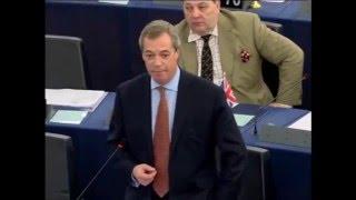Nigel Farage: EU Using the Refugees to Federalize Europe