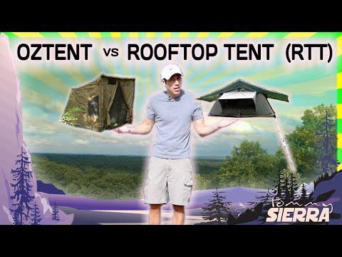 OZTENT vs. ROOFTOP TENT (RTT)