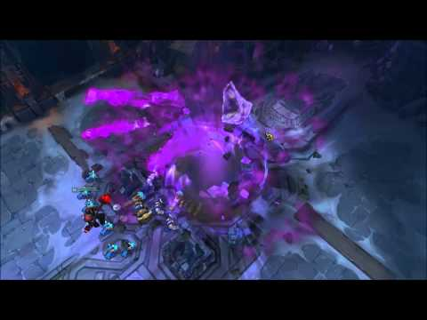 [4/23 PBE] Purple Side Animated Victory Screen