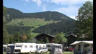 Eindrücke vom Campingplatz CampingAustria im Bregenzerwald / Vorarlberg in Österreich