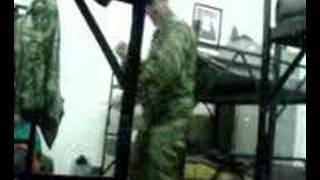 Army dancing greek soldier