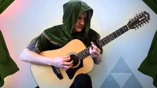 Zelda 2: The Adventure of Link – Battle Theme (12 string Acoustic Guitar)