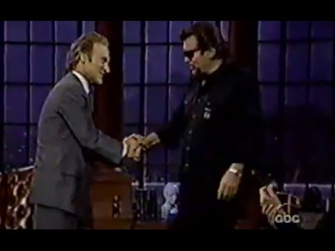 "Waylon Jennings on ABC's ""Politically Incorrrect"" (Part 1)"