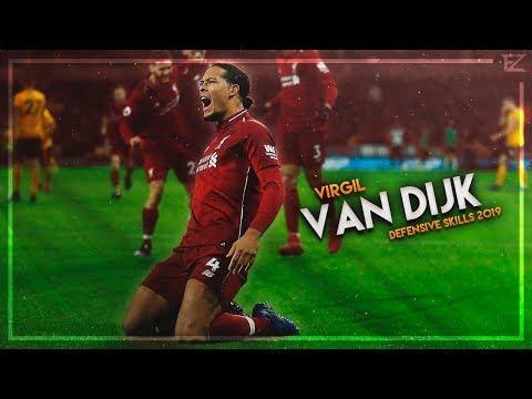 Virgil Van Dijk 2019 ▬ MasterClass ● Tackles, Defensive Skills & Goals - HD