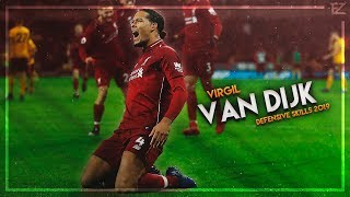 Virgil Van Dijk 2019 MasterClass Tackles Defensive Skills Goals HD