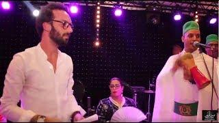 مجموعة سعيد بولا بولا و فنان عثمان مولين ليلة نايضة بقصر النخيل 2017