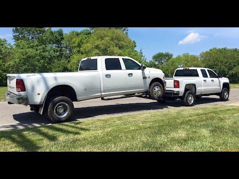 GMC Gas 2500 Lifting Dodge 3500 Diesel Dually