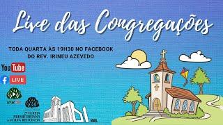 ???? Live Estudo Bíblico das Congregações 14/10/2020