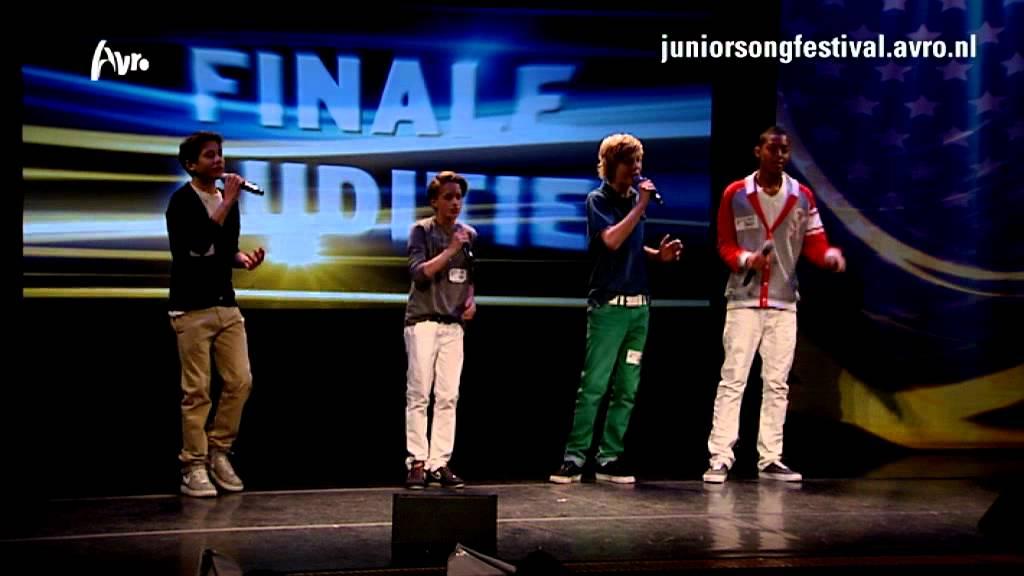 junior songfestival de jongens mainstreet stellen