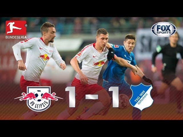 Melhores momentos de Leipzig 1x1 Hoffenheim, pela Bundesliga.