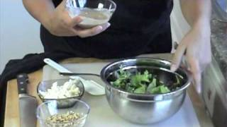 Mediterranean Salad Recipe With Tahini Salad Dressing!!! A Must Try Recipe !!!