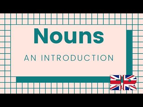 Nouns - An introduction