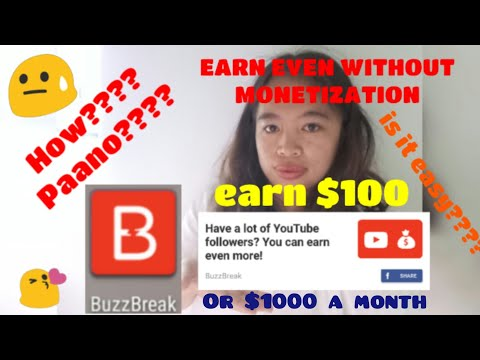 BUZZBREAK NEWS: Earn Up To $100 Or More Dollar Every Month (How???)