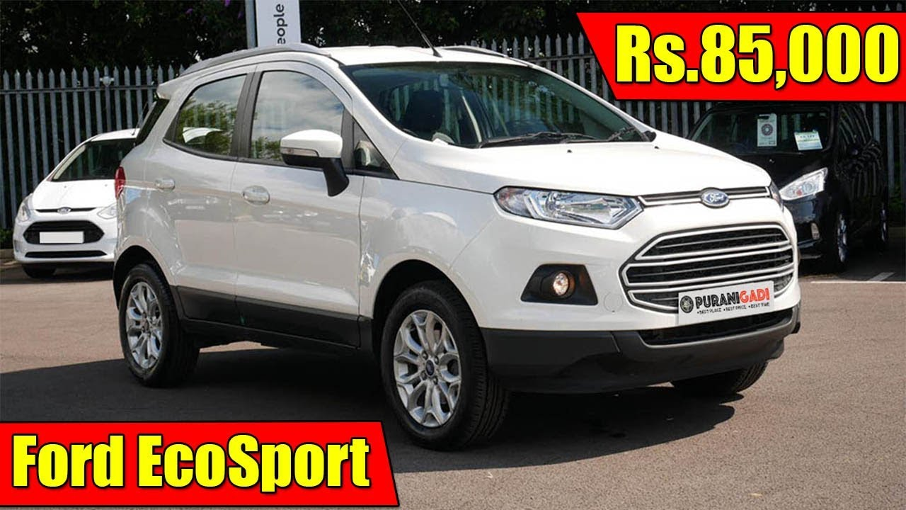 Rs85000 Used Ford Ecosport Car In Ghaziabad Buy Second Hand Ford Ecosport Car Price In Delhi