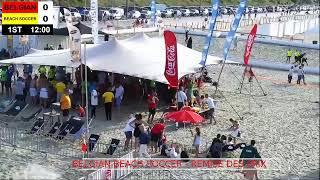 Belgium Beach Soccer Championship 2019 FINAL TOURNAMENT : REMISE DES PRIX