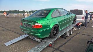 BMW M3 E46 Horsepower Freaks Turbo (900HP) - Start up, Revs & Drag Racing!