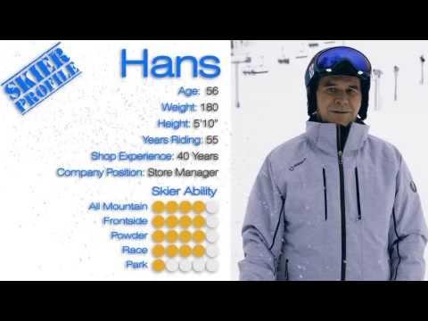 Hans's Review - Salomon Enduro RS 800 Skis 2014 - Skis.com